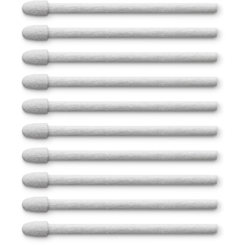Wacom Pen Nibs for Wacom Pro Pen 2 & Pro Pen 3D (Felt, 10-Pack)