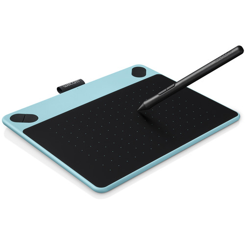 Wacom Intuos Comic Pen & Touch Small Tablet (Mint Blue)