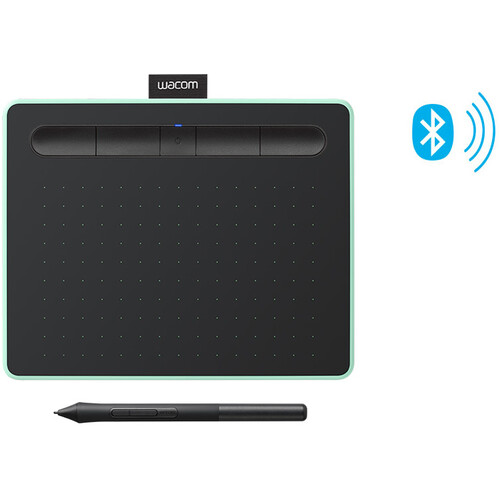 Wacom Intuos Bluetooth Creative Pen Tablet (Small, Pistachio Green)