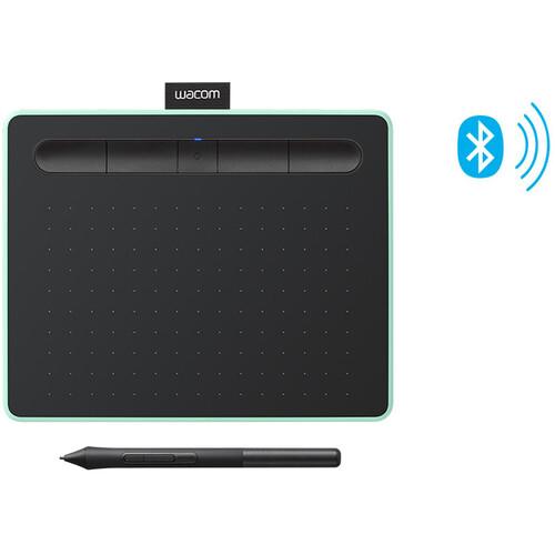 Wacom Intuos Bluetooth Creative Pen Tablet (Small, Pistachio Green)