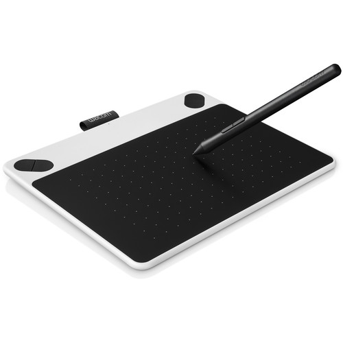 Wacom Intuos Draw Pen Small Tablet (White)