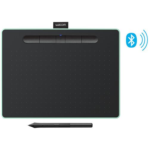 Wacom Intuos Bluetooth Creative Pen Tablet (Medium, Pistachio Green)