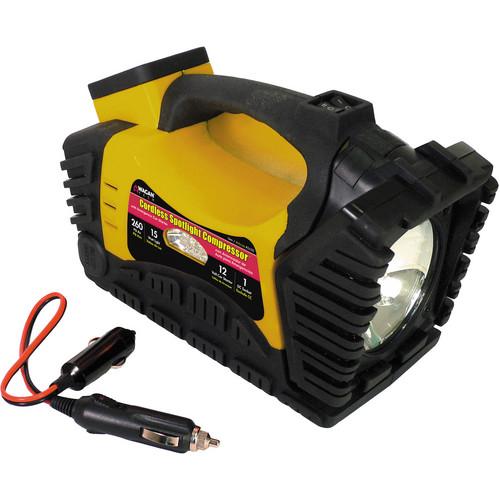 WAGAN Cordless Spotlight Compressor/Jumper/Portable Power 2450