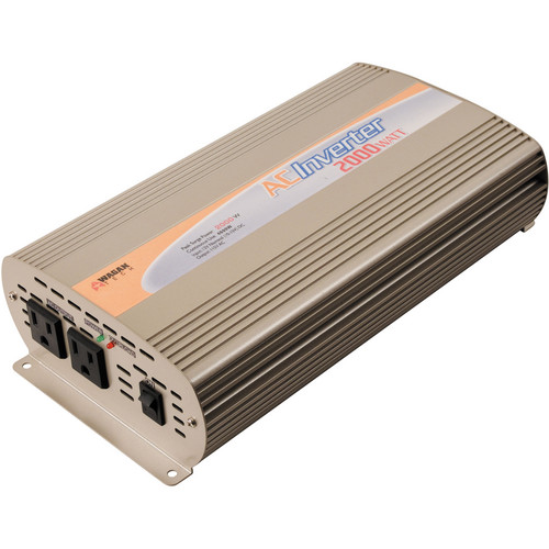 WAGAN Slim Line 2000W 12 VDC to 110 VAC Power Inverter