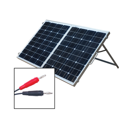 WAGAN 80W (2 x 40W) Portable Folding Solar Panels