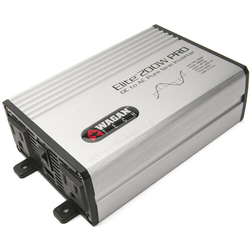WAGAN Elite 200W PRO Pure Sine Wave DC to AC Power Inverter