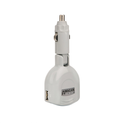 WAGAN TravelCharge Companion GO-3 USB 3-Port Car Adapter