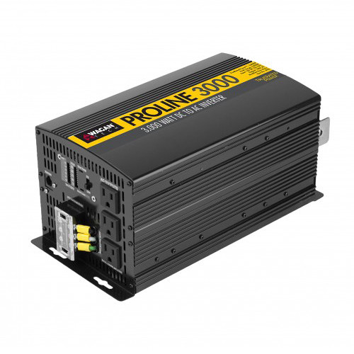 WAGAN 3,000W ProLine Power Inverter with Remote (24V)