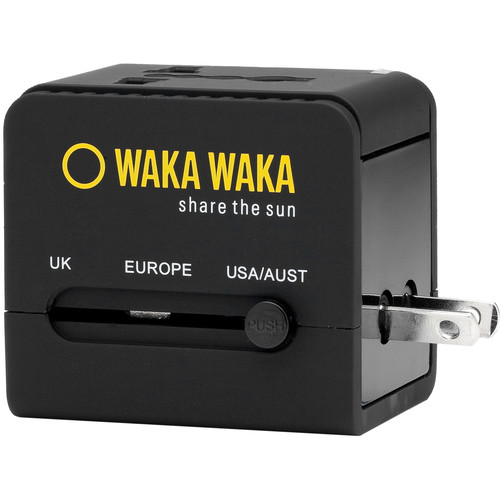 WakaWaka World Charger (Black)