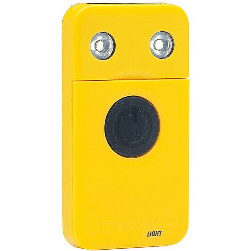 WakaWaka Rechargeable LED Solar Flashlight (Yellow)