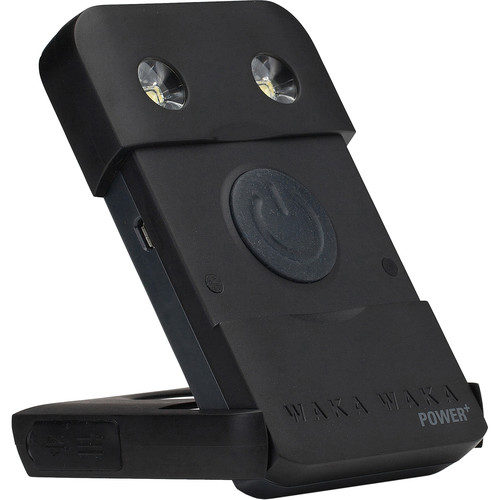 WakaWaka Power+ Solar Charger & Flashlight Battery Pack (Black)