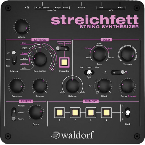 Waldorf Strings and Bass Synthesizer Collection