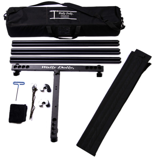 Wally Dolly Basic Dolly 9 ft Kit & Walkabout Hard Case Bundle