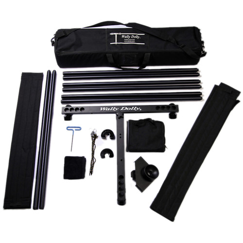 Wally Dolly Basic Dolly 12 ft Kit & Walkabout Hard Case Bundle