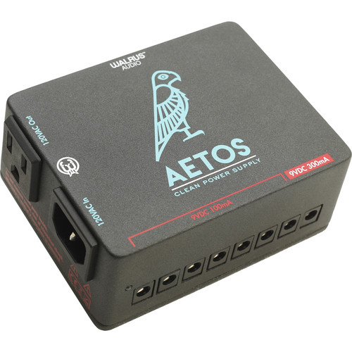 WALRUS AUDIO Aetos 8-Output Power Supply for Select Pedals (120V)