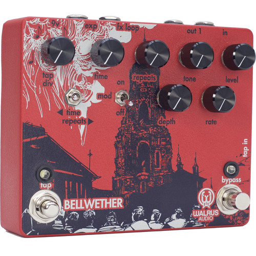 WALRUS AUDIO Bellwether Analog Delay with Chorus Engine and Tap Tempo