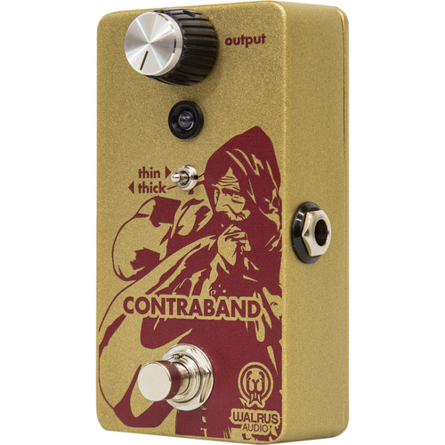 WALRUS AUDIO Contraband Fuzz Pedal for Electric Guitars