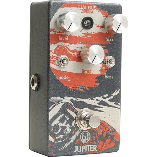 WALRUS AUDIO Jupiter Multi-Clip Fuzz V2 Pedal for Electric Guitar and Bass