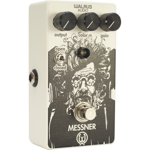 WALRUS AUDIO Messner Transparent Light-Gain Overdrive Pedal