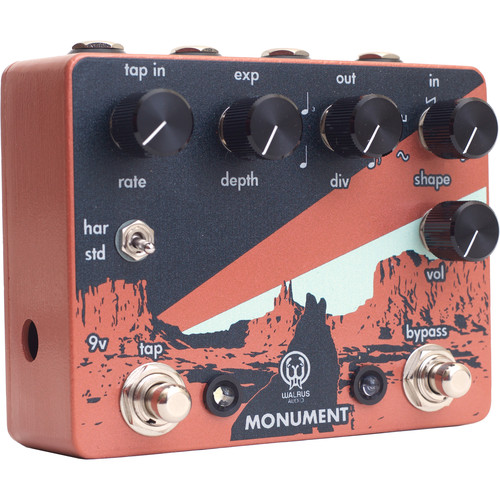 WALRUS AUDIO Monument Harmonic Tap Tremolo for Electric Guitar