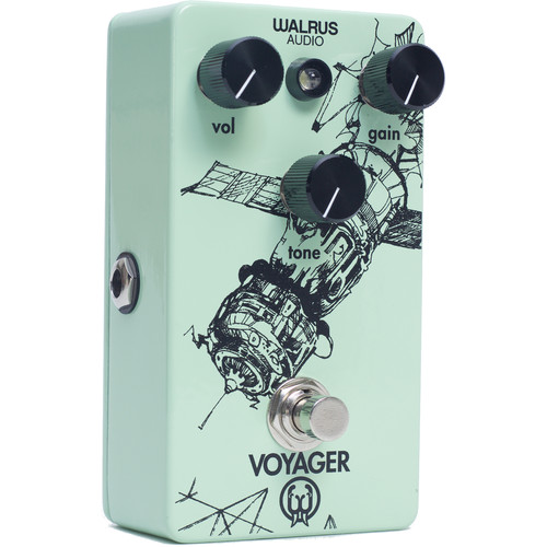 WALRUS AUDIO Voyager Preamp and Overdrive Pedal for Electric Guitars
