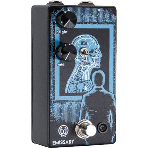 WALRUS AUDIO Emissary Parallel Boost Pedal for Electric Guitars