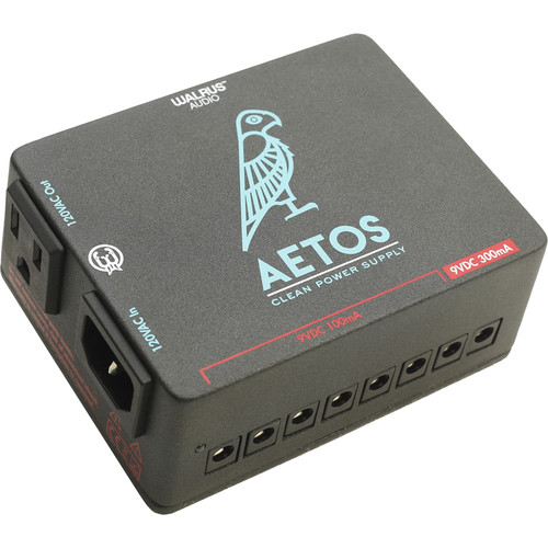 WALRUS AUDIO Aetos 8-Output 120V Power Supply for Pedals and Pedalboards