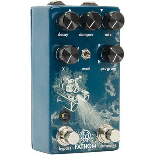 WALRUS AUDIO Fathom Reverb Pedal for Electric Guitars