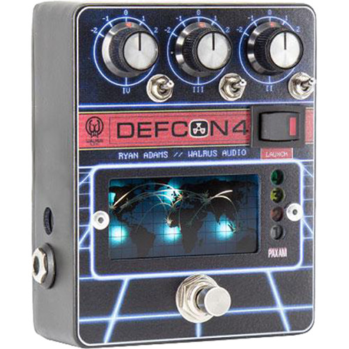 WALRUS AUDIO DEFCON4 Preamp and EQ Pedal for Electric Guitar