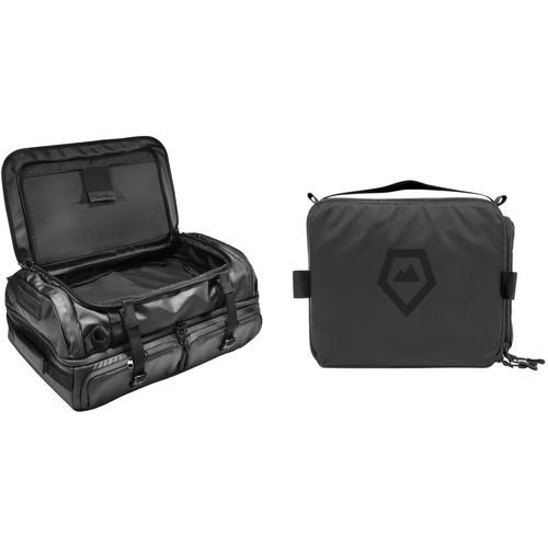 WANDRD HEXAD Access 45L Duffel with Medium Camera Cube Kit (Black)