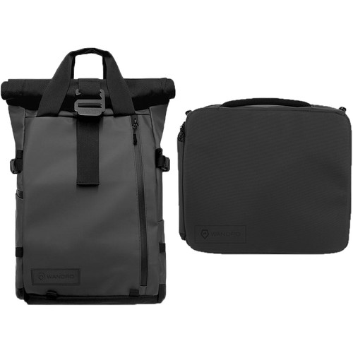 WANDRD PRVKE 31L Photo Bundle with Essential+ Camera Cube (Black)