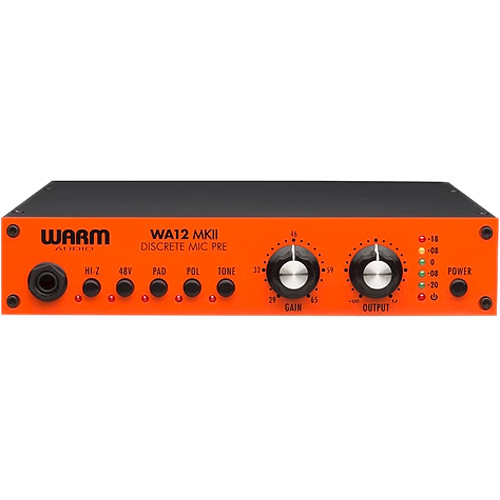 Warm Audio WA12 MKII Dual-Transformer Microphone Preamplifier
