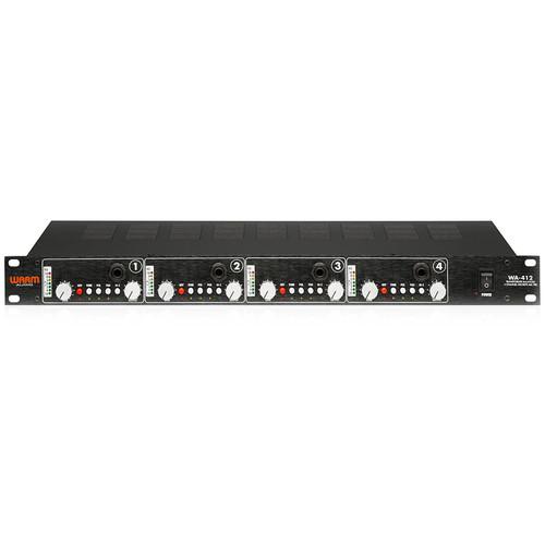 Warm Audio WA-412 4-Channel Microphone Pre-Amp with DI