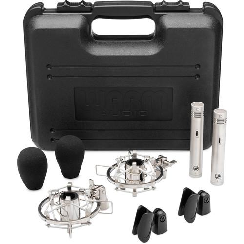 Warm Audio WA-84 Small Diaphragm Condenser Microphone (Stereo Pair, Nickel)