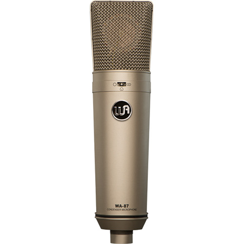Warm Audio WA-87 Multi-Pattern Condenser Microphone (Nickel)