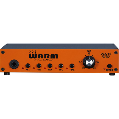 Warm Audio Warm Audio WA12 Rock Guitar Recording Bundle