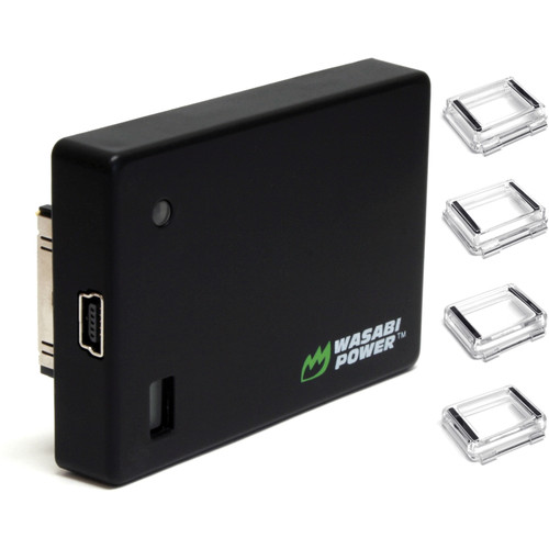 Wasabi Power Extended Battery for HERO4, HERO3+, & HERO3 with Backdoors