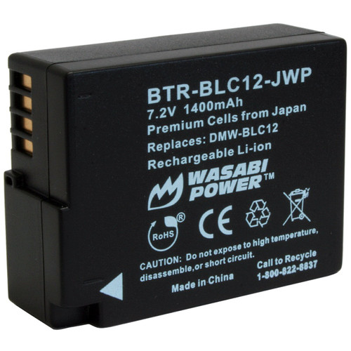 Wasabi Power BLC12 Rechargeable Lithium-Ion Battery Pack (7.2V, 1400mAh)
