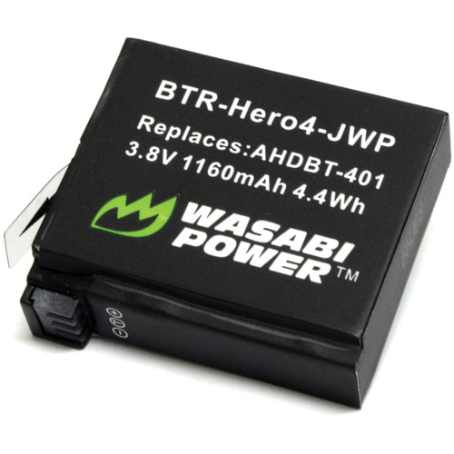 Wasabi Power Rechargeable Battery for GoPro HERO4