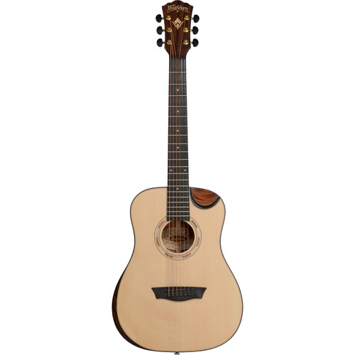 Washburn WCDM15SK Comfort Series 3/4 Size Steel-String Acoustic Guitar