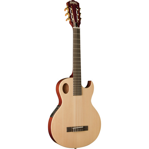 Washburn EACT42S Festival/Classical Series Nylon-String Acoustic/Electric Guitar
