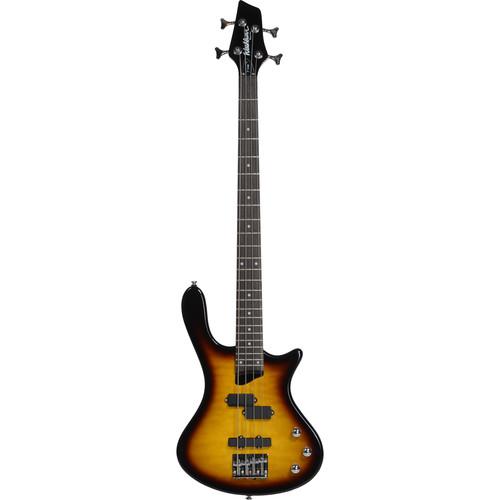 Washburn T14QTS Electric Bass Guitar (Tobacco Sunburst)