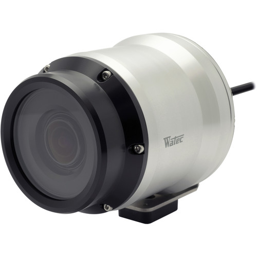 Watec 400D2 650 TVL Waterproof Color Camera with 2.8mm Lens