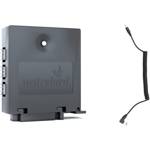 Waterbird Camera Control Unit with Nikon 10-Pin/DC0 Cable and Mobile App