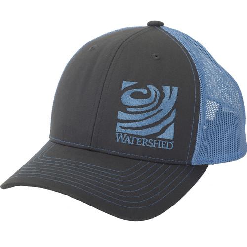 WATERSHED Mesh-Back Cap (Charcoal/Columbia Blue)