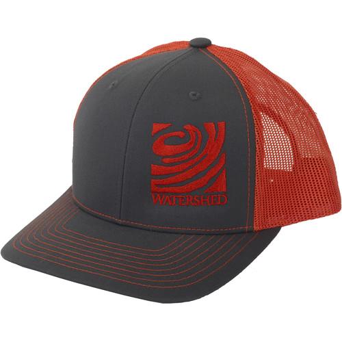 WATERSHED Mesh-Back Cap (Charcoal/Orange)