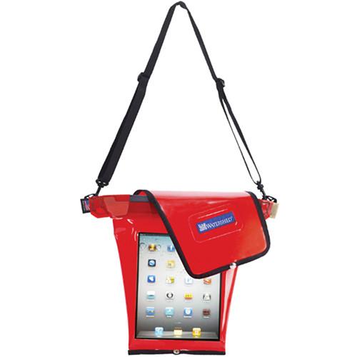 WATERSHED Grid Tablet Bag (Red)