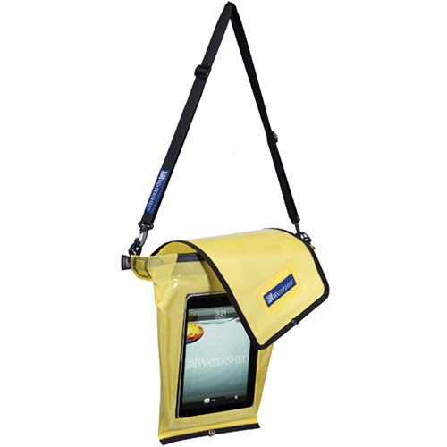 WATERSHED Grid Tablet Bag (Yellow)