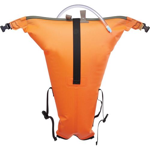 WATERSHED Salmon Stowfloat Kayak Bag (Orange)