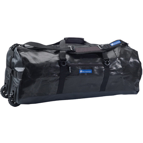 WATERSHED Tramp Wheelie Mesh Duffel (Black)